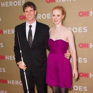 E.J. Scott, Deborah Ann Woll in 2011 CNN Heroes: An All-Star Tribute