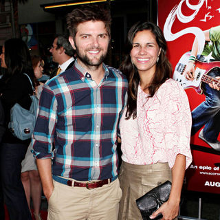 Adam Scott in 'Scott Pilgrim vs. the World' Los Angeles Premiere