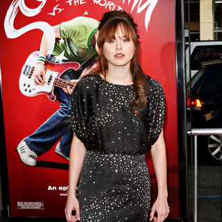 Alison Pill in 'Scott Pilgrim vs. the World' Los Angeles Premiere