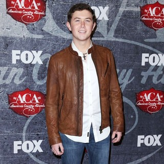 Scotty McCreery in 2012 American Country Awards - Arrivals