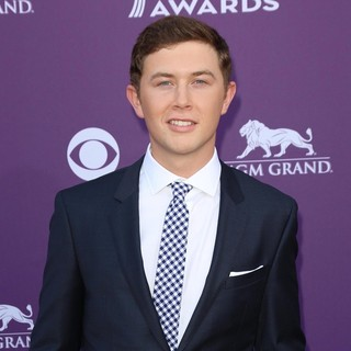 Scotty McCreery in 48th Annual ACM Awards - Arrivals