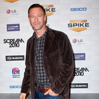 Aaron Eckhart in Spike TV's 'Scream 2010 Awards' - Arrivals