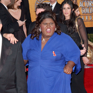 Gabourey Sidibe in 16th Annual Screen Actors Guild Awards - Arrivals