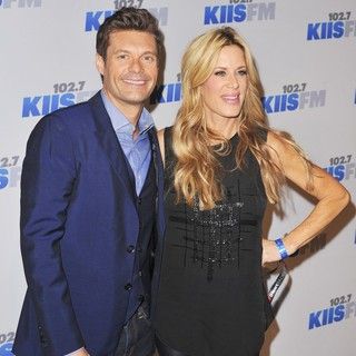 Ryan Seacrest, Ellen K in KIIS FM's Jingle Ball 2012 - Arrivals
