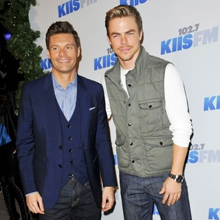 Ryan Seacrest, Derek Hough in KIIS FM's Jingle Ball 2012 - Arrivals