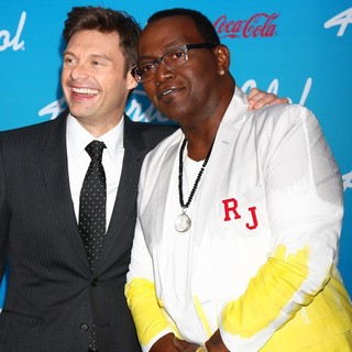 Ryan Seacrest, Randy Jackson in FOX's American Idol Finalists Party
