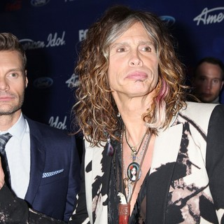 Ryan Seacrest in The American Idol Season 11 Top 13 Party - seacrest-tyler-american-idol-season-11-top-13-01