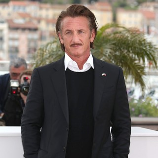 Sean Penn in Haiti Carnaval in Cannes Photocall - During The 65th Cannes Film Festival