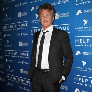 Sean Penn in Cinema for Peace Event Benefitting J-P Haitian Relief