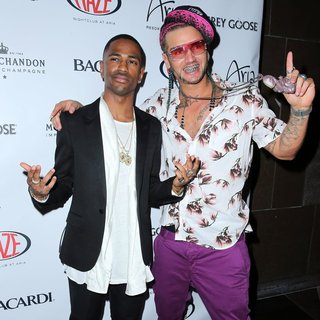 Big Sean, Riff Raff in Memorial Day Weekend Celebration