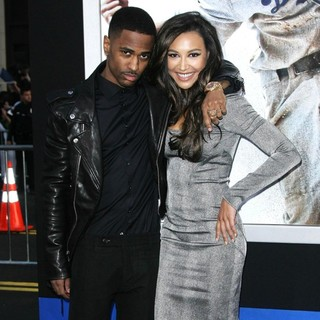 Big Sean, Naya Rivera in Los Angeles Premiere of 42: The True Story of An American Legend - Arrivals
