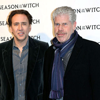 Nicolas Cage, Ron Perlman in The 'Season of the Witch' Premiere