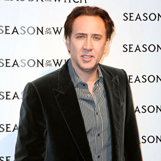 Nicolas Cage in The 'Season of the Witch' Premiere