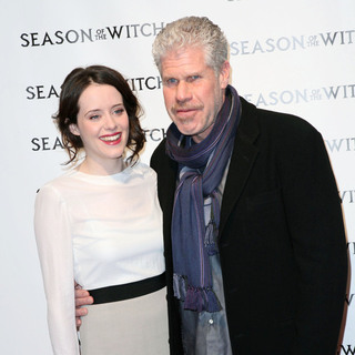 Claire Foy, Ron Perlman in The 'Season of the Witch' Premiere