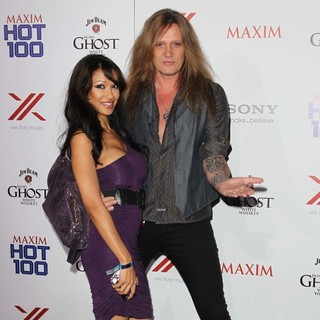 Sebastian Bach in The Maxim Hot 100 Party - Arrivals