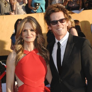 Kyra Sedgwick, Kevin Bacon in The 18th Annual Screen Actors Guild Awards - Arrivals