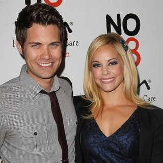 Drew Seeley, Amy Paffrath in NOH8 Celebrity Studded 4th Anniversary Party - Arrivals