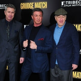 Peter Segal, Sylvester Stallone, Robert De Niro in Grudge Match New York Screening - Red Carpet Arrivals