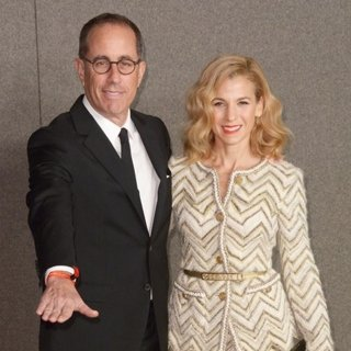 Jerry Seinfeld, Jessica Seinfeld in Chanel Metiers d'Art Show - Red Carpet Arrivals
