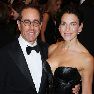 Jerry Seinfeld, Jessica Seinfeld in PUNK: Chaos to Couture Costume Institute Gala