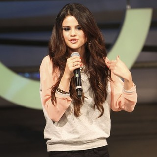 Selena Gomez in The 2013 Adidas NEO Label Mercedes-Benz Fashion Show