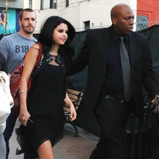 Selena Gomez in Selena Gomez Leaving El Capitan Theatre
