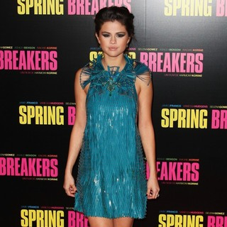 Selena Gomez in Paris Premiere of Spring Breakers - Red Carpet