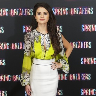 Selena Gomez in Spring Breakers Photocall