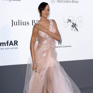 Selita Ebanks in 66th Cannes Film Festival - amfAR's 20th Annual Cinema Against AIDS - Arrivals