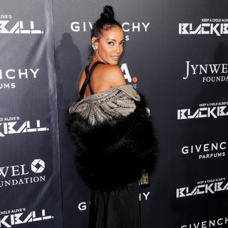 Selita Ebanks in Keep A Child Alive's 11th Annual Black Ball - Red Carpet Arrivals