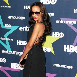 Selita Ebanks in Final Season Premiere of HBO's Entourage