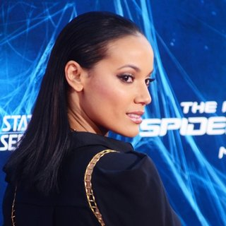 Selita Ebanks in New York Premiere of The Amazing Spider-Man 2 - Red Carpet Arrivals