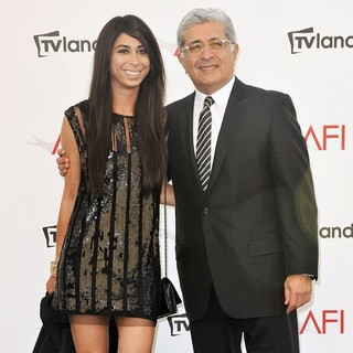 Courtenay Semel, Terry Semel in The 40th AFI Life Achievement Award Honoring Shirley MacLaine