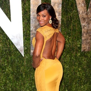Serena Williams in 2012 Vanity Fair Oscar Party - Arrivals