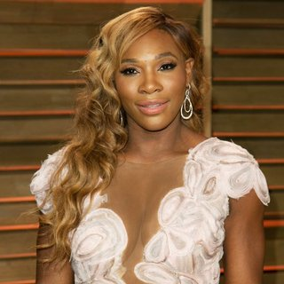 Serena Williams in 2014 Vanity Fair Oscar Party