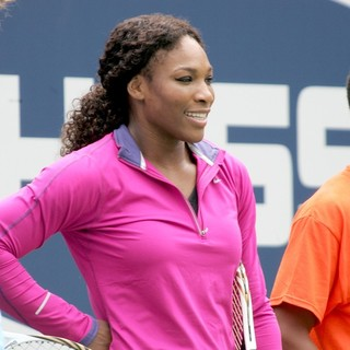 Serena Williams in Arthur Ashe Kids Day 2012