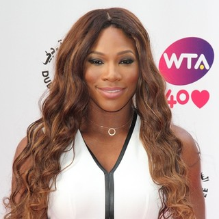 Serena Williams in Pre-Wimbledon Party