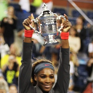Serena Williams in Serena Williams Win The 2013 Women's US Open Title