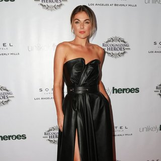 Serinda Swan in 3rd Annual Unlikely Heroes Awards Dinner and Gala