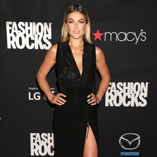 Serinda Swan in Fashion Rocks 2014 - Red Carpet Arrivals