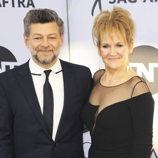 Andy Serkis, Lorraine Ashbourne in 25th Annual Screen Actors Guild Awards - Arrivals