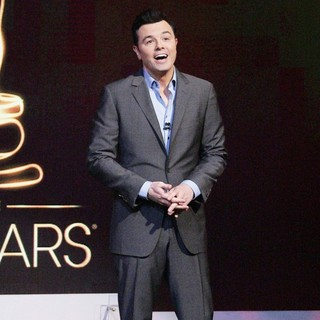 Seth MacFarlane in The 85th Academy Awards - Nominations Announcement