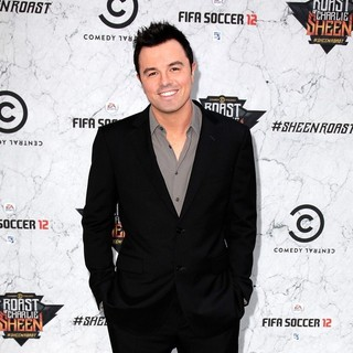 Seth MacFarlane in Comedy Central Roast of Charlie Sheen - Arrivals