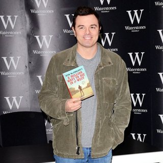 Seth MacFarlane in Seth MacFarlane Promotes His Book A Million Ways to Die in the West