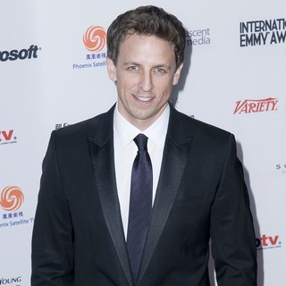 Seth Meyers in 38th International EMMY Awards - Arrivals