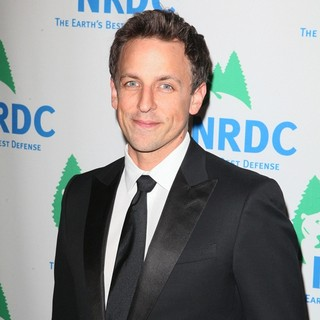 Seth Meyers in Chiefs at Environmental Group Natural Resources Defense Council Honour Arianna Huffington