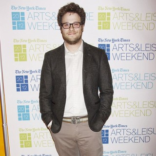 Seth Rogen in 2012 NY Times Arts and Leisure Weekend - TimesTalks - Day Four