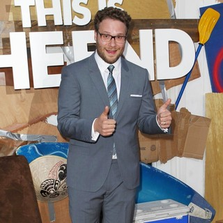 Seth Rogen in Los Angeles Premiere of This Is the End