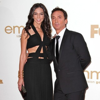 Terri Seymour, Bruno Tonioli in The 63rd Primetime Emmy Awards - Arrivals