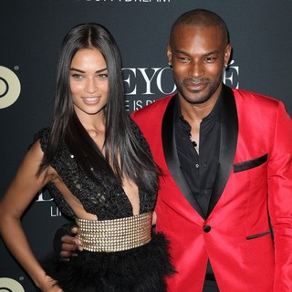 Shanina Shaik, Tyson Beckford in Beyonce: Life Is But a Dream New York Premiere